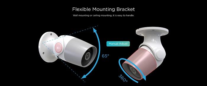 OX-WS7 WiFi Smart Home& Outdoor Camera -OUXIANG